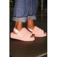 UGG classic men and women personality wild suede non-slip slippers