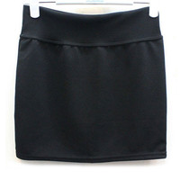 Candy Color Stretchable Mini Skirt