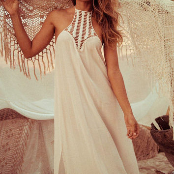 Boho maxi sundress