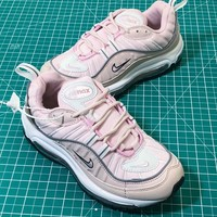 Nike Air Max 98 Barely Rose Womens | Ah6799-600 Women's Sport Running Shoes - Best Online Sale