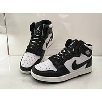 """Nike Air Jordan I"" Unisex Casual Fashion Multicolor High Help Breathable Plate Shoes Basketball Shoes Couple Sneakers"