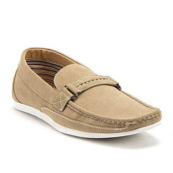 Men's 41296 Carlos Slip On Driver Loafers Driving Moccasin Flats Shoes