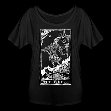 The Fool Grim Reaper Women's Flowy T-Shirt