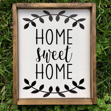 SC Home Sweet Home Sign