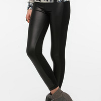 Urban Outfitters - BDG Faux Leather Panel Legging