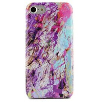 Electric Marble Rainbow iPhone Case