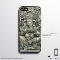 Ganesha iPhone 5 case, iPhone 5 cover, case for iPhone 5, S188