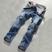Red Hot Bleached Rinse Jeans