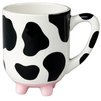 Boston Warehouse Udderly Cows Mug