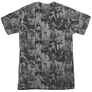 ELVIS TCB CROWD OFFICIAL LICENSED 3D TEE T-SHIRT