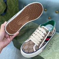 GG low-top men's and women's double G sneakers shoes