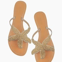 Starfish Sandals - Gold