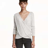 H&M Wrapover Sweater $12.99