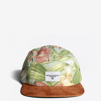 Hibiscus Floral Five Panel Hat