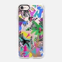 80s Jungle TBT iPhone 7 Case by Vasare Nar | Casetify