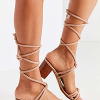 Intentionally Blank Tipsy Heel   Urban Outfitters