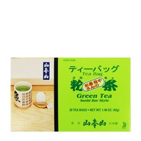 Yamamotoyama Green Tea Sushi Bar Style, 20 bags, 1.48 oz (42 g)