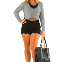 Find A Way Sweater: Gray