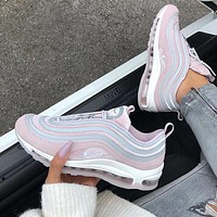 Nike Air Max 97 Ultra Pink Air-cushioned running shoes