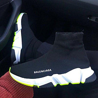 Balenciaga Woman Men Fashion Breathable Sneakers Running Shoes-4