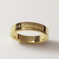 Calvin Klein Fashion print ring For Women And Men  The ring