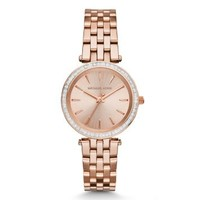 Mini Darci Rose Gold-Tone Watch | Michael Kors
