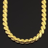 Gift Jewelry Shiny New Arrival Stylish Lace Chain Fashion Hip-hop Necklace [10529029315]