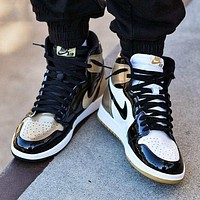 Air Jordan 1 tide brand personality wild high-top shoes-1