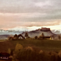 Southern Styria With Castle Riegersburg