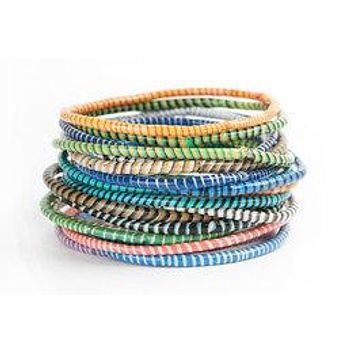 Recycled Rubber Bracelets