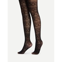 Crochet Lace Tights
