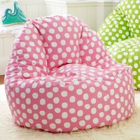 Painted Dot Pink Leanback Lounger