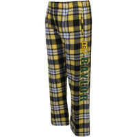Baylor Bears Classic Flannel Pants - Green/Gold