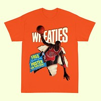 """Wheaties"" Cereal Box Tee (Various Colors)"
