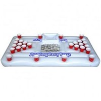 Floating Cooler Pool Pong Table