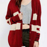 Urban Outfitters - Coincidence & Chance Varsity Stripe Cardigan