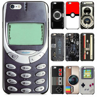 2016 Newest Camera Style Old Battery Tape game controllers Phone 3310  Funny Designs For iPhone 6  6S Case