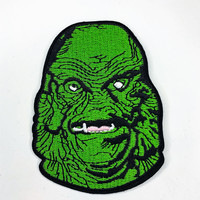 """Creature from the Black Lagoon"" Iron On Patch"