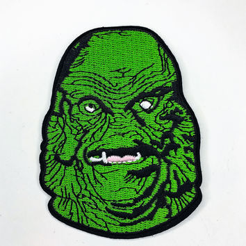 """""""Creature from the Black Lagoon"""" Iron On Patch"""