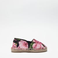 Girls' clothes and accessories | DG Online Store - PRINTED CANVAS ESPADRILLES