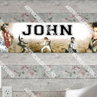 Personalized/Customized Elvis Presley Poster, Border Mat and Frame Options Banner 505