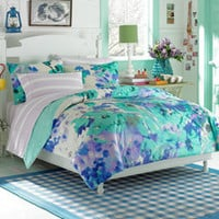 Teen Vogue® Watercolor Garden Twin Comforter Set - Bed Bath & Beyond