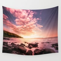 Sonar Wall Tapestry by HappyMelvin