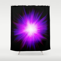Violet flame by healinglove Shower Curtain by Healinglove products