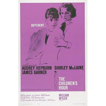 The Children's Hour Poster//The Children's Hour Movie Poster//Movie Poster//Poster Reprint//Home Decor//Wall Decor