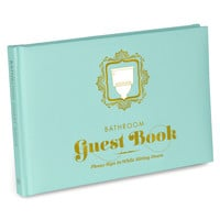 Funny Book Gift | Bathroom Guest Book | KNOCK KNOCK