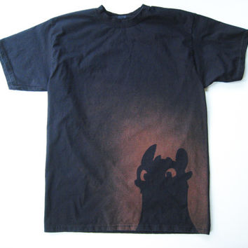 Toothless from How to Train Your Dragon t-shirt (men's)