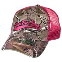 NEW Bass Pro Shops Embroidered Camo Mesh Back Cap for Ladies