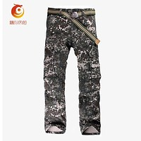 2017 Spring Cotton Camo Pants Men Casual Camuflado Baggy Joggers Dance Sportwear Cargo Pants Slacks Tactical Trousers Sweatpants