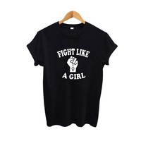 DCCKLG2 Fight Like A Girl T Shirt